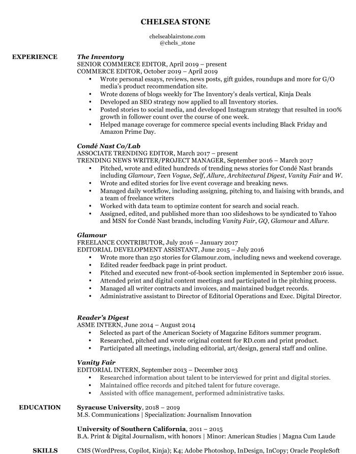 Microsoft Word - ChelseaStoneResume.docx